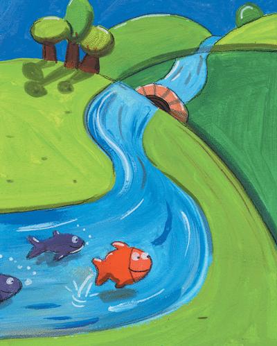 Les petits poissons - illustration 2